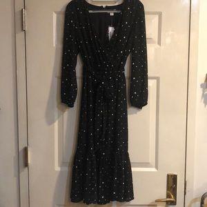 NWT Crew Point Sur Half Moon Wrap Dress - Size 4